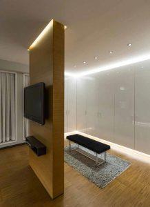 اتاق تلویزیون خانه لوکس