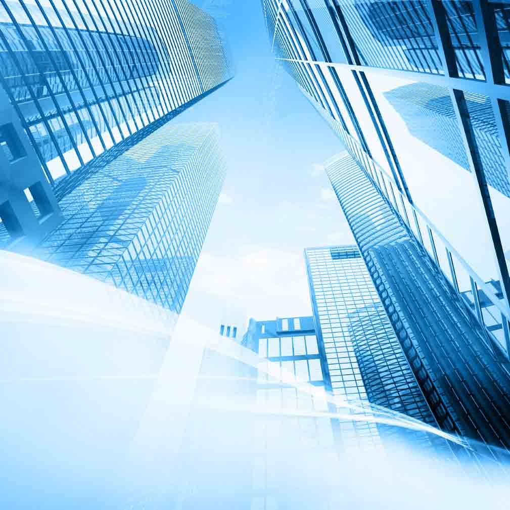 ساختمان های بلند یا جدارهای نورگذر و نمای شیشه ای