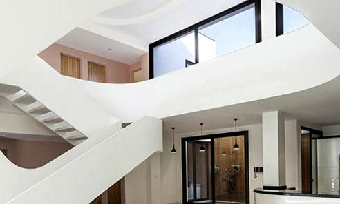 نمای داخلی دوبلکس خانه رویایی