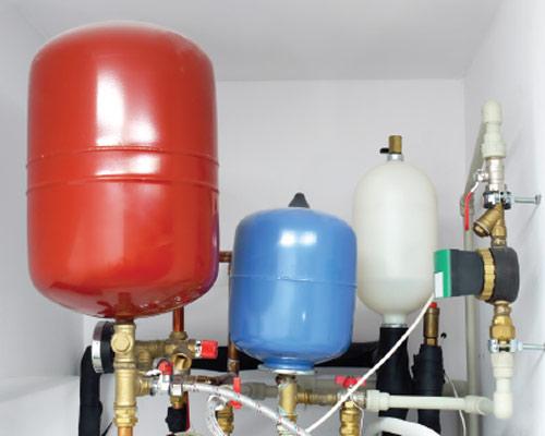 منبع انبساط گالوانیزه باز قرمز بالاتر از بالاترین مبدل گرمایی
