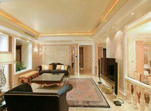 اتاق تلويزيون خانه لوکس
