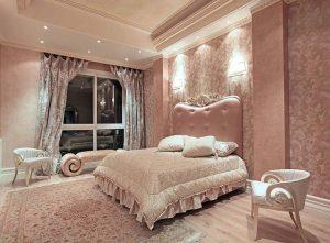 مبلمان اتاق خواب خانه لوکس