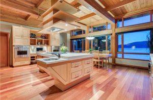 آشپزخانه و کابينت هاي چوبي