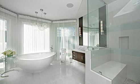 سرویس حمام و دوش خانه لوکس
