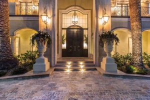 درب ورودي خانه لوکس