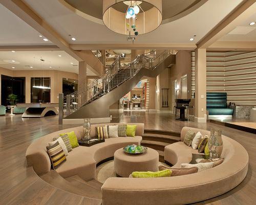 تقارن شعاعی و گذار در طراحی داخلی