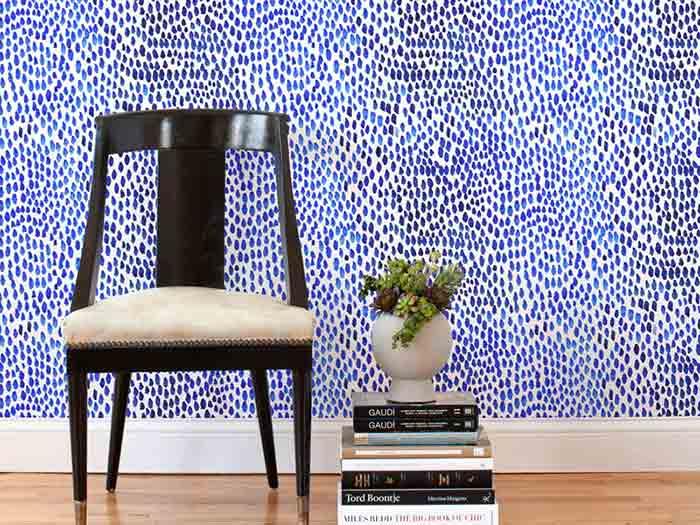 طرح موزاييکی کاغذ دیواری قابل برداشت