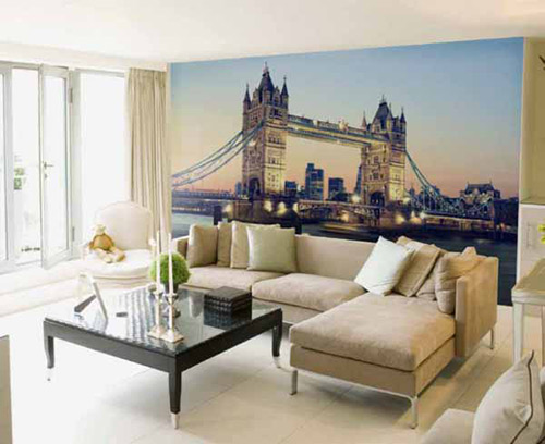 پوستر ديواري سه بعدي از پل لندن