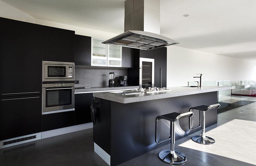 طراحي دکوراسيون آشپزخانه خانه های لوکس