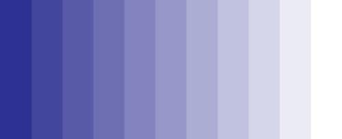 نمودار ته رنگ وسايه در تئوری رنگ
