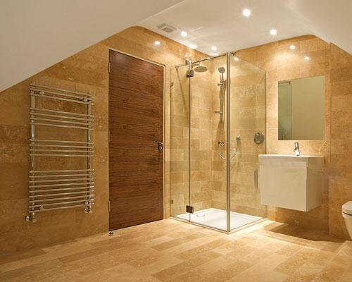 گرمایش حمام با هیتر حوله خشک کن
