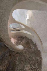 نمای داخلی راه پله