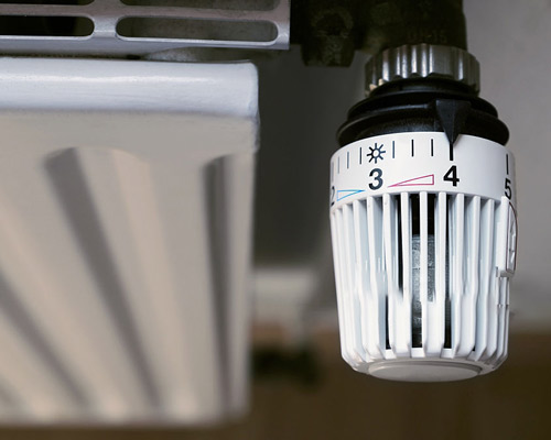 شیر ترموستاتیک هیتر با تنظیم درجه حرارت