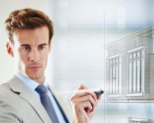 طراحی با رابط دیجیتال بر روی شیشه هوشمند