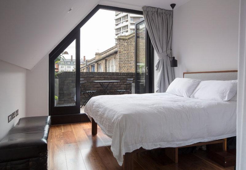 تخوتخواب با قاب کوچک در طراحی دکوراسیون اتاق خواب