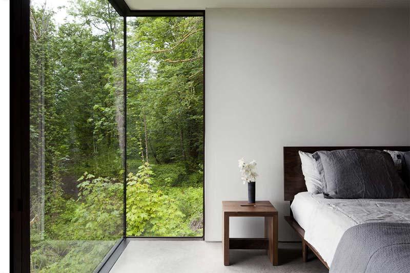 استفاده از فضا با رعايت مينيماليسم در طراحی دکوراسیون اتاق خواب کوچک