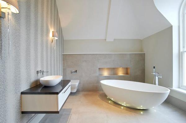 طراحی دکوراسیون حمام با آرامش