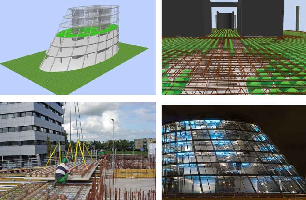 نمونه اجرا شده سقف های سبک در آمستردام هلند