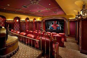 صندلی های سالن سينما