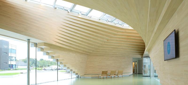 طرح برجسته چوبي در نمايشگاه معماري ايتاليا
