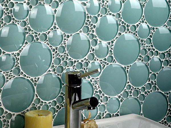 کاشي سبز رنگ در طراحی دکوراسیون حمام