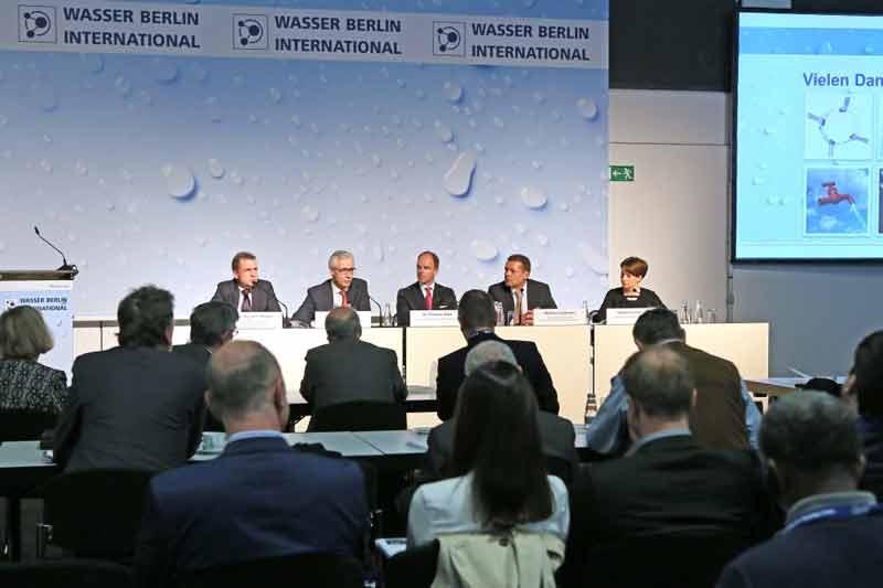 کنفرانس افتتاحيه نمايشگاه آب و فاضلاب برلين