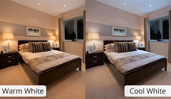 اتاق خواب با رنگ هاي گرم و سرد