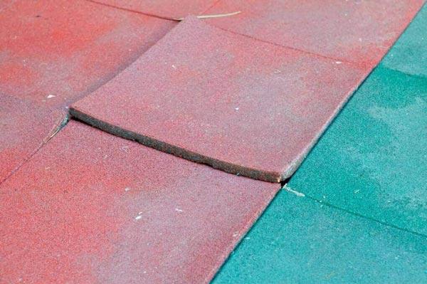 پوشش کف با مواد لاستیکی
