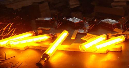 انواع لامپ ها ی سديم با فشار کم