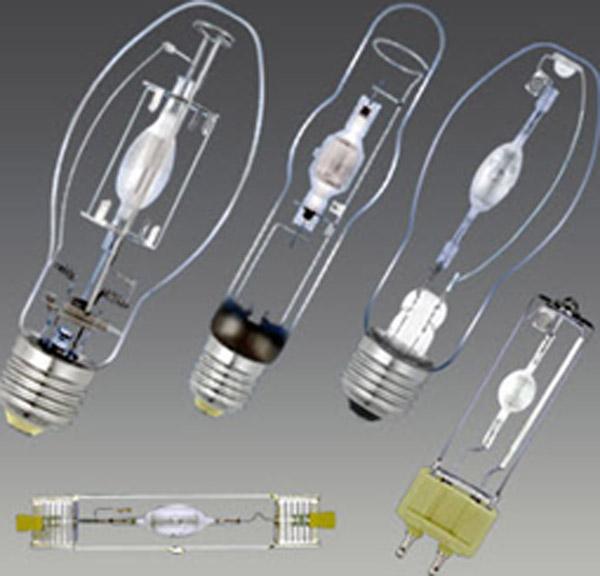 انواع لامپ ها ی متال هالید