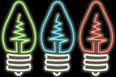 لامپ ها ی نئون براي روشنایی تزیینی