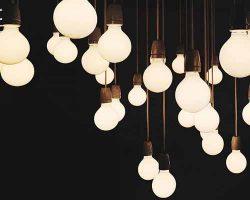لامپ های روشنایی اویزان