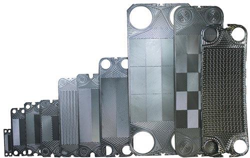 انواع صفحه مبدل گرمایی plate