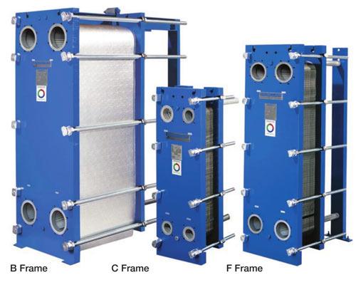 انواع قاب انتقال دهنده گرمای صفحه ای