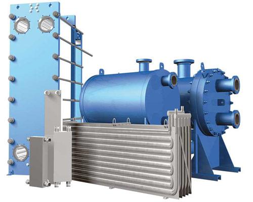 مدل های انتقال دهنده حرارتی صفحه ای واشردار حلزونی لحیم شده و جوشکاری