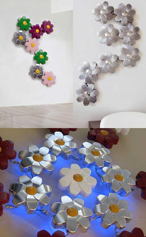 رادیاتور تزئینی با طرح گل