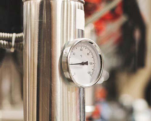 فشار سنج بویلر سیستم حرارت مرکزی