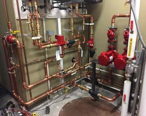 پمپ سیرکولاتور سیستم حرارتی آب در گردش