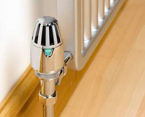 شیر ترموستاتیک رادیاتور شوفاژ