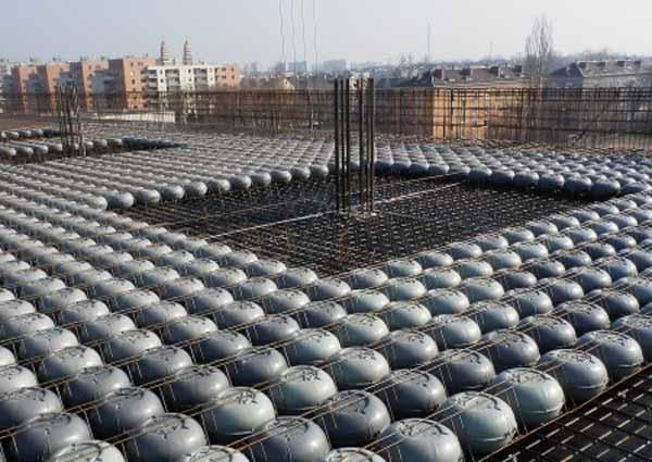 نموه اجرای سقف کوبیاکس نوع دوم