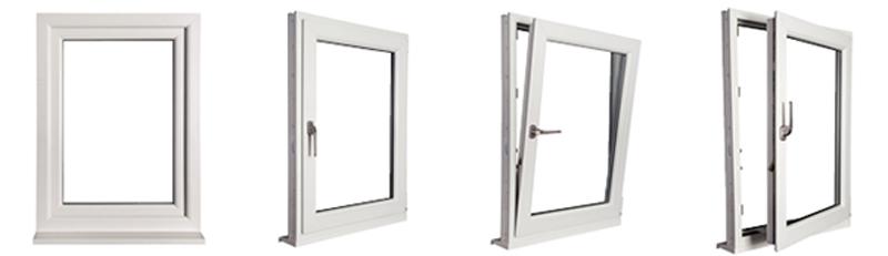 نمونه مدل از پنجره یو پی وی سی