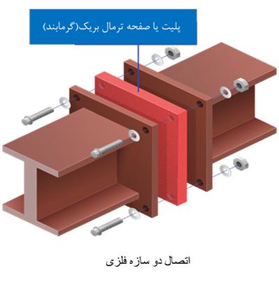 نمونه اي از اتصال ترمال بریک