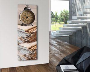 رادیاتور شیشه ای آترین ساعت