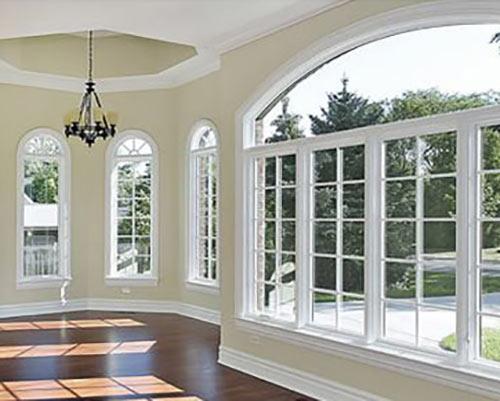 پنجره دوجداره برای ساختمان با نمای زیبا