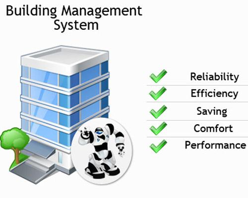 نمایش مزایای سیستم BMS در ساختمان