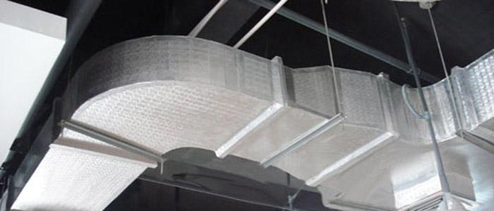 نمايش کانال های پیش عایق شده در ساختمان