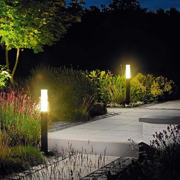 نورپردازی باغچه و روشن کردن مسیر پیاده روی