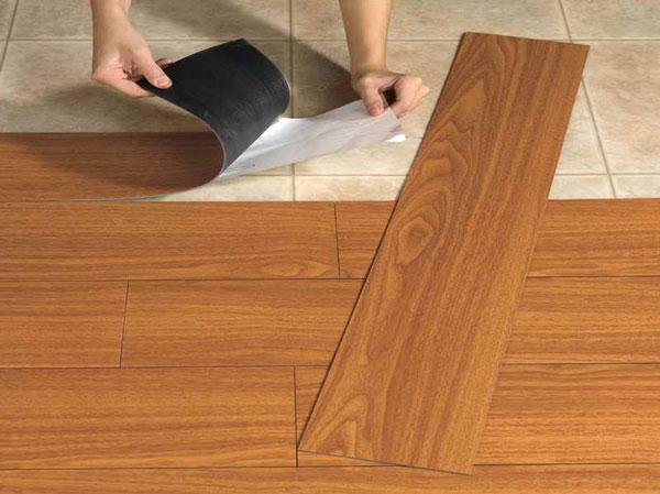 چگونگی نصب کفپوش چوبی وینیل