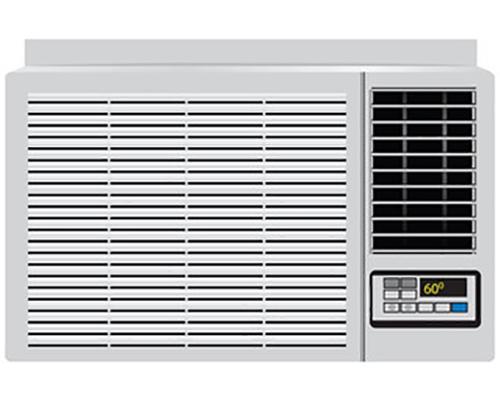 یک نمونه کولر گازی با نمایشگر دیجیتال