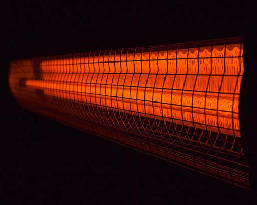 گرماتاب لوله ای که نوعی گرمایش تابشی محسوب می شود